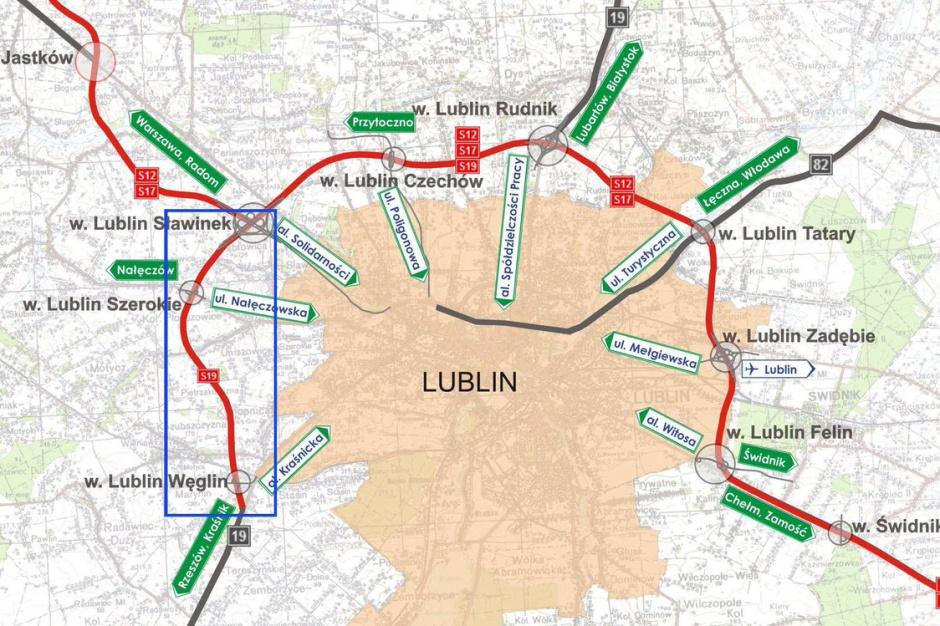 Via Carpatia, droga ekspresowa S19: Obwodnica Lublina gotowa do użytku