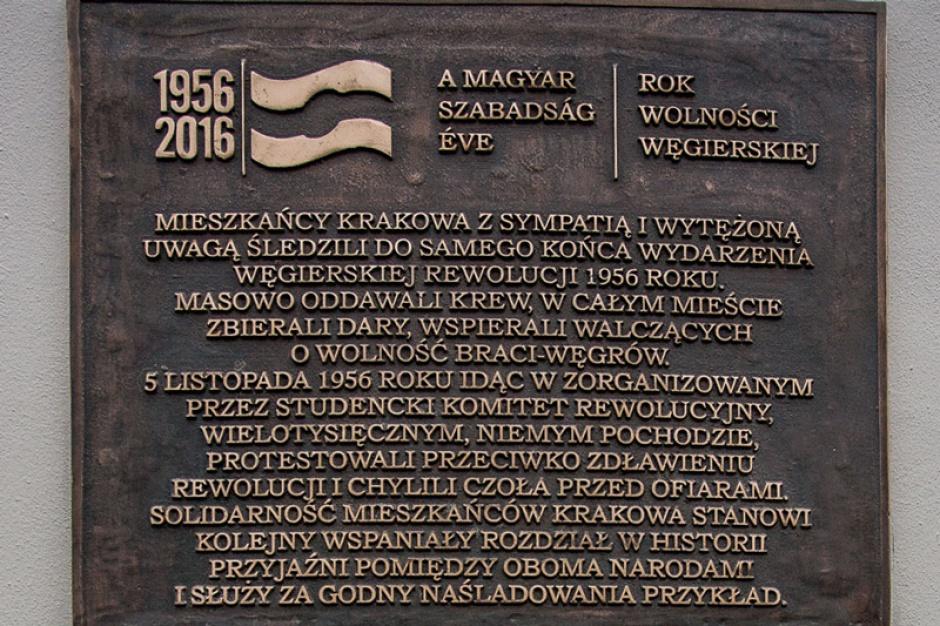 Kraków uczcił rocznicę rewolucji i walki o wolność na Węgrzech