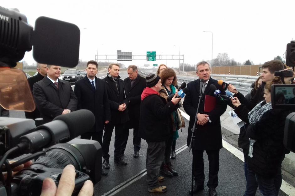 Lublin: Udostępniono dla ruchu zachodnią obwodnicę miasta