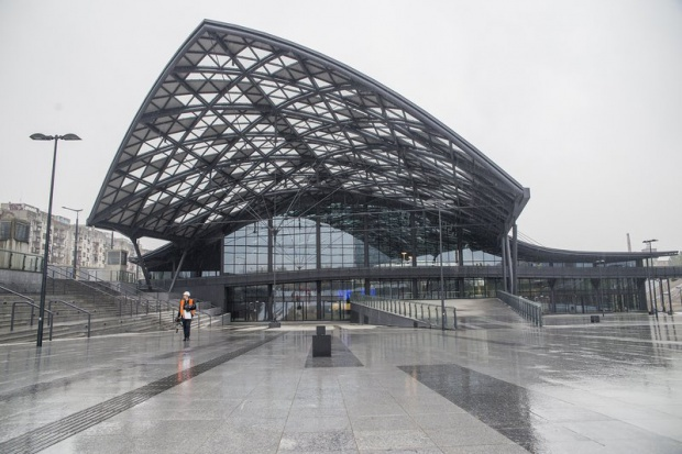 Nowy dworzec Łódź Fabryczna dopuszczony do eksploatacji