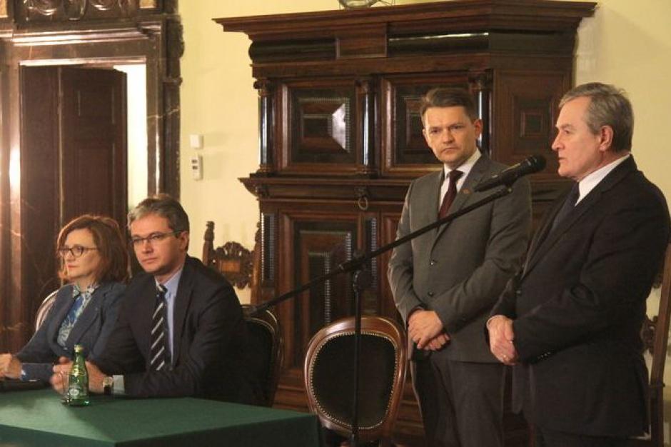Muzeum Narodowe w Kielcach. Piotr Gliński i Adam Jarubas podpisali umowę