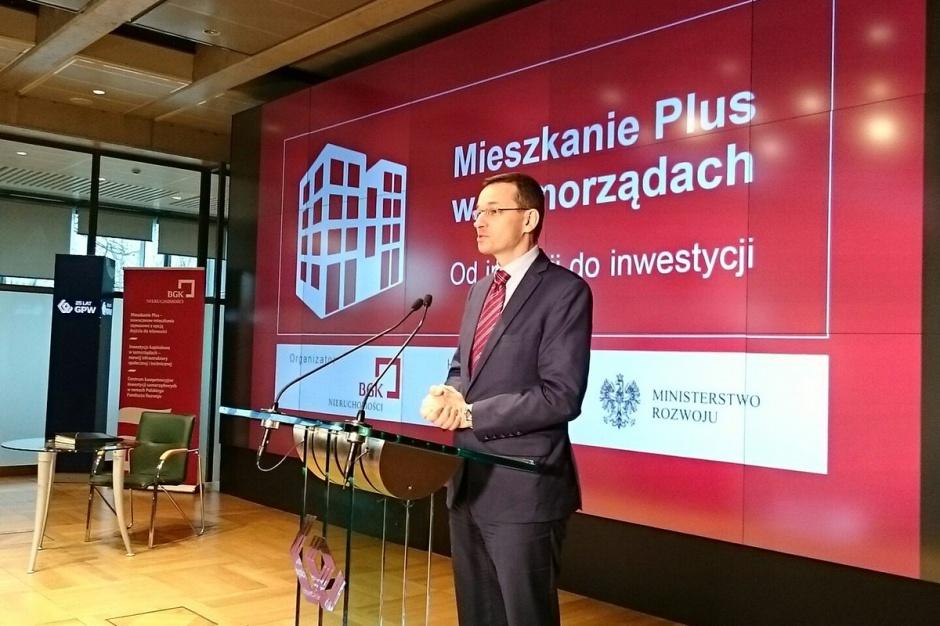 Mieszkanie Plus. Morawiecki: Mamy do nadrobienia 3 miliony mieszkań