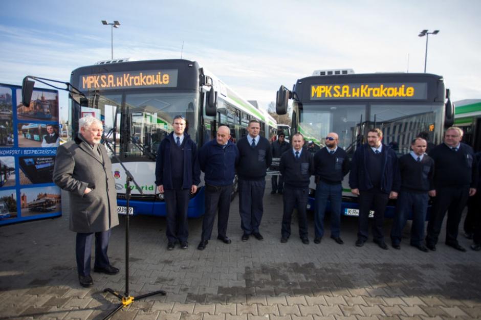 Kraków: Autobusy hybrydowe opanowują miasto