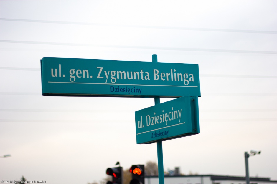 Białystok zmienił nazwy dziewięciu ulic