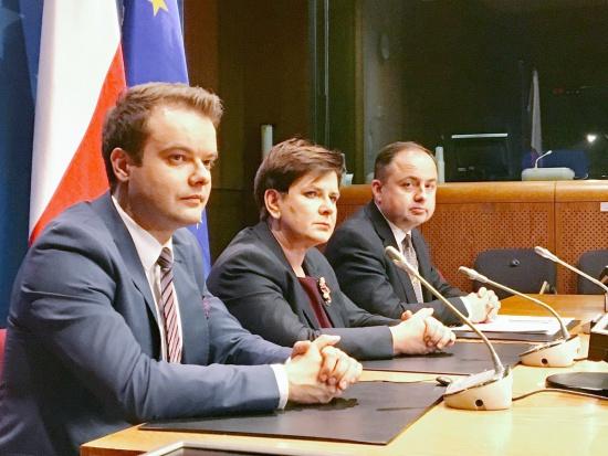 Szydło: Polska chce rozwijać energetykę w oparciu o węgiel