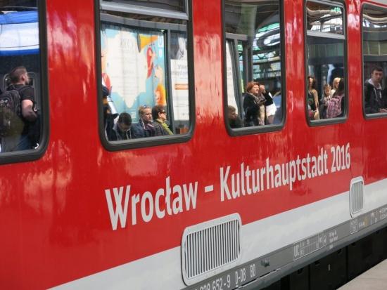 """Pociąg Wrocław-Berlin: Połączenie kolejowe w ramach """"Pociągu do kultury"""" do końca 2018 r."""