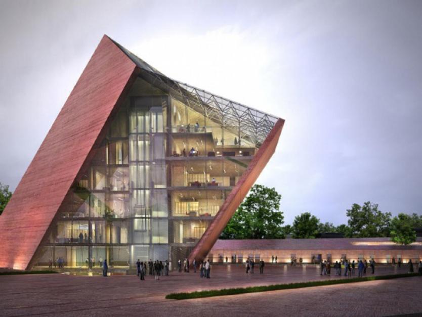Gmach Muzeum II Wojny Światowej w Gdańsku. (fot. gdansk.pl)