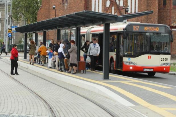 Gdańsk: Kierowcy autobusów protestują