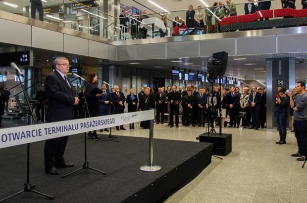 Port lotniczy Kraków-Balice teraz z większym terminalem