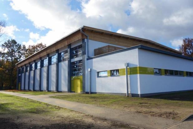 Zachodniopomorskie: Nowoczesna hala sportowa w Goleniowie już gotowa