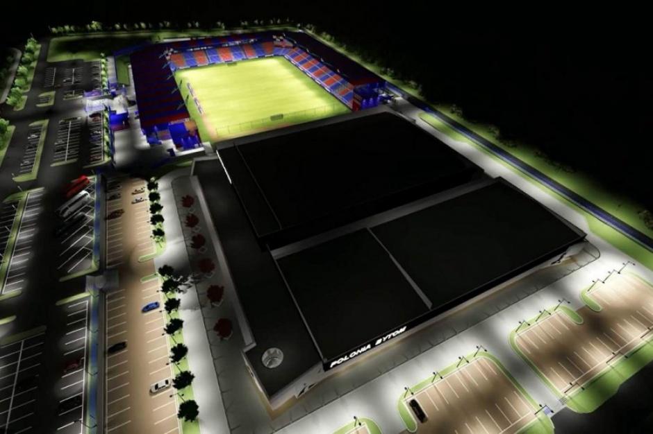 Bytom stawia nowoczesny stadion piłkarski i lodowiska