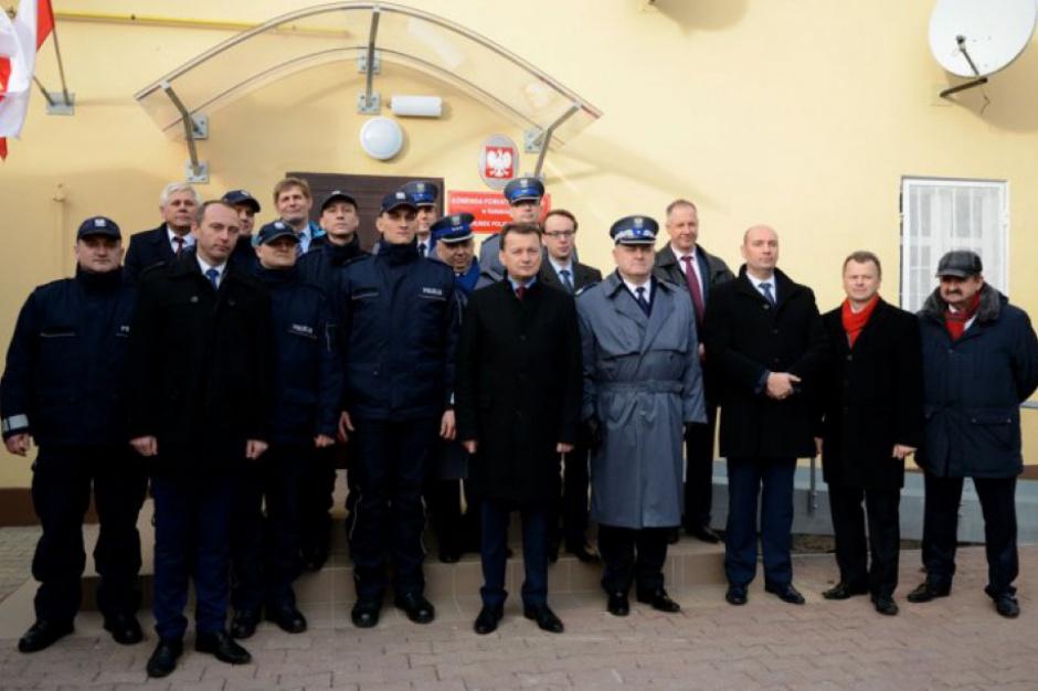 Program modernizacji służb mundurowych: Od 1 stycznia 2017 r. wracają kolejne posterunki policji