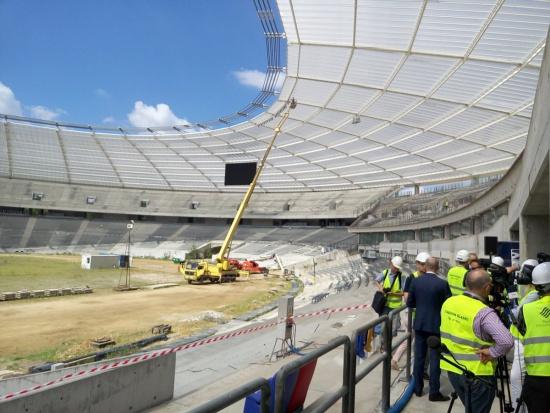 Przebudowa Stadionu Śląskiego coraz bliżej finiszu. Samorząd szuka dzierżawcy hotelu