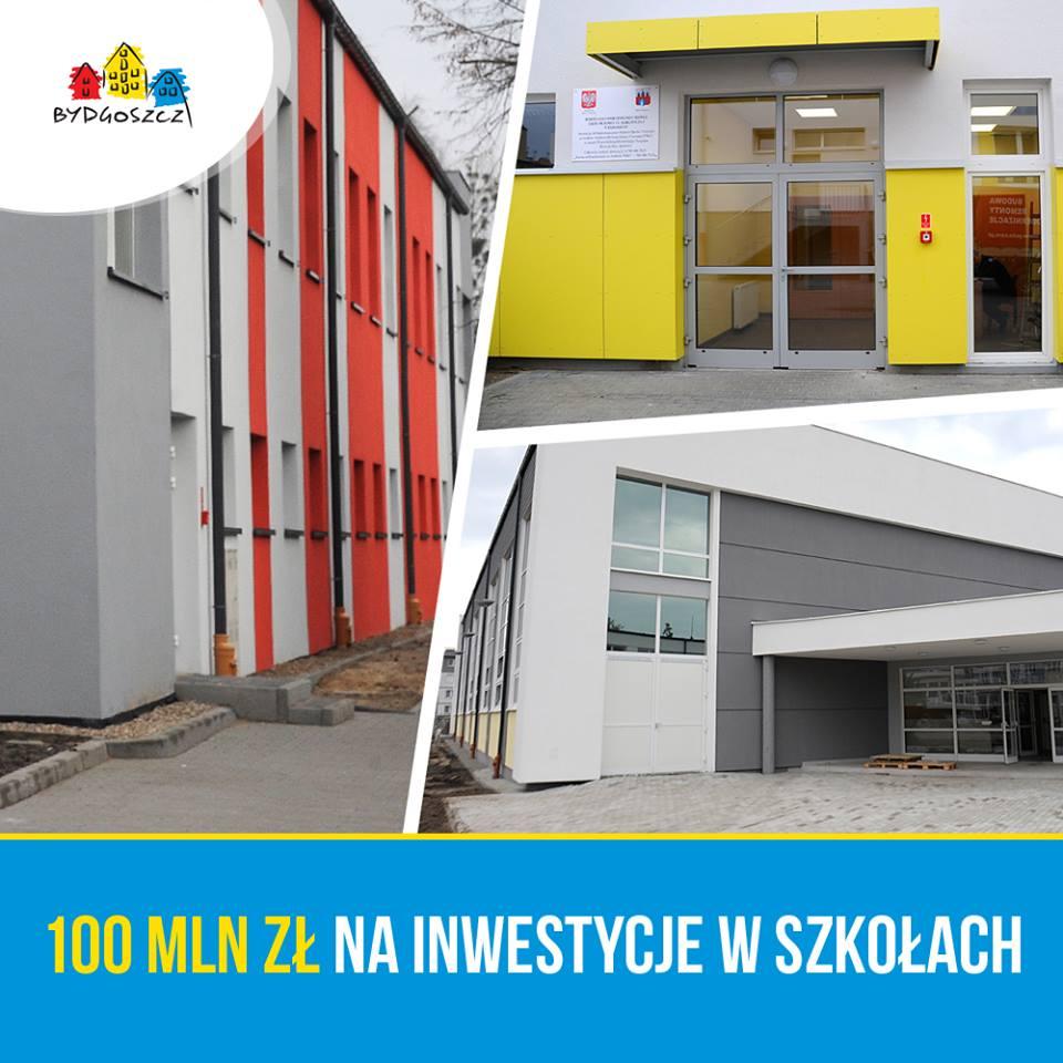 Prace w Bydgoszczy zostały zaplanowane w 27 budynkach w 25 placówkach oświatowych. (fot. UM Bydgoszcz)
