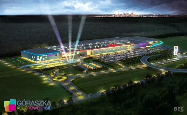 Centrum Handlowe Góraszka ma być jednym z największych w Polsce