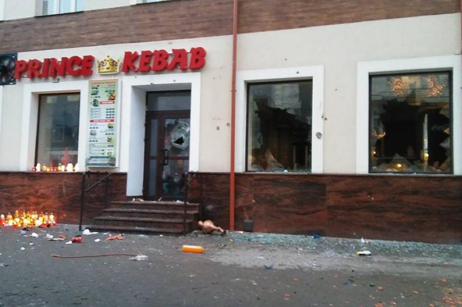 Ełk: Kolejne zatrzymania za udział w burdach, policja wciąż w mieście