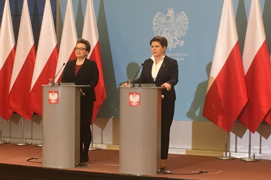 Premier zaapelowała o jedność podczas wdrażania reformy