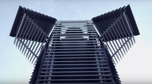 Radny Białołęki chce postawić w Warszawie wieżę smogową