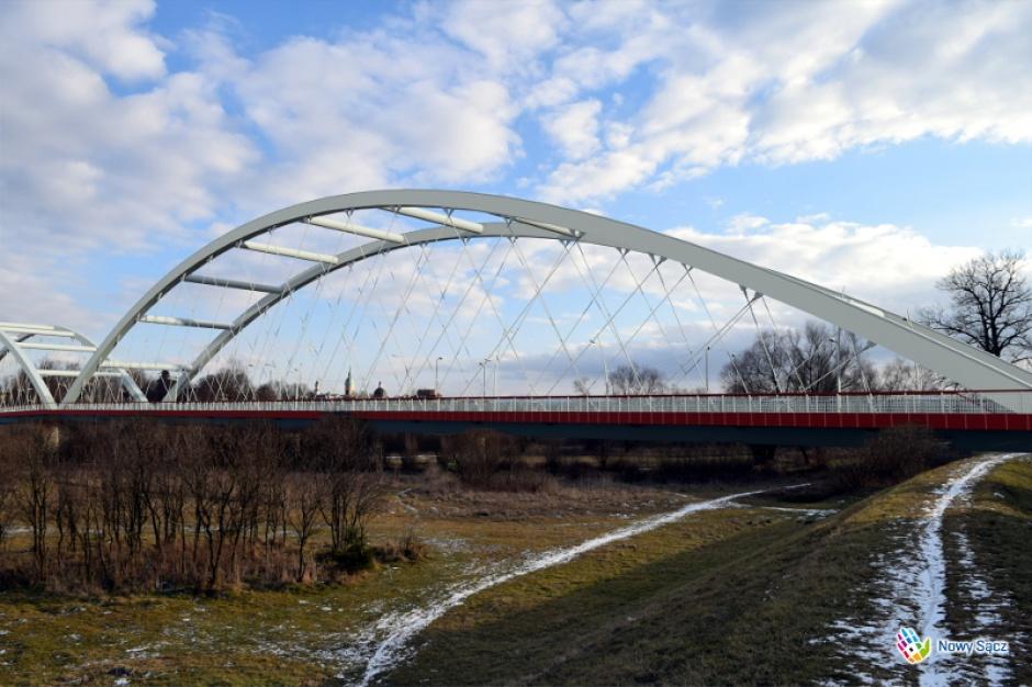 Nowy Sącz: Startuje budowa nowego mostu Heleńskiego na Dunajcu