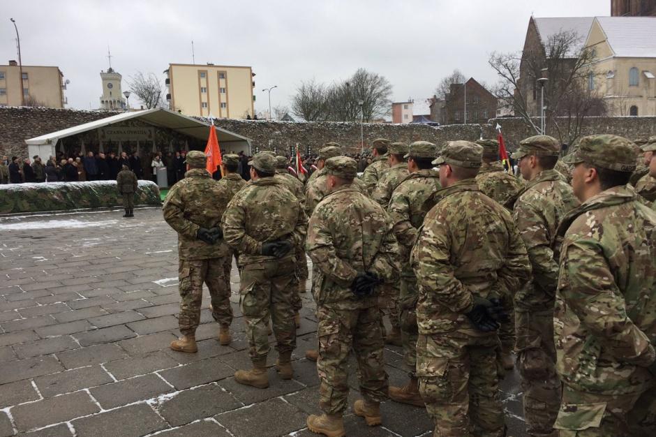 Amerykańscy żołnierze powitani w Żaganiu. Imprezy w całym kraju