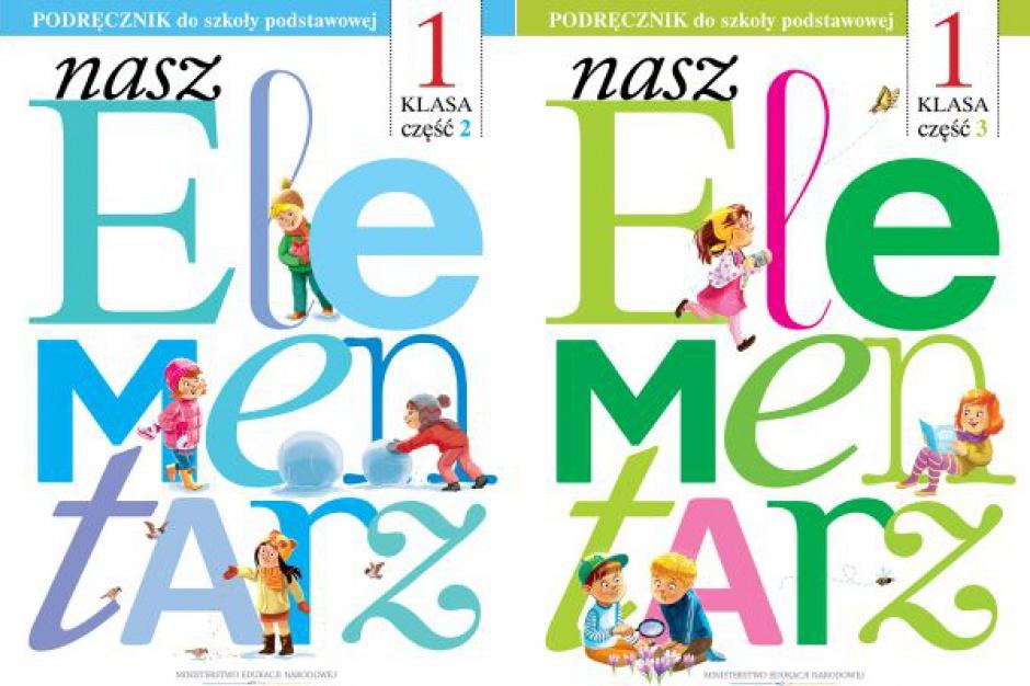 """""""Nasz elementarz"""": Decyzja MEN ucieszyła wydawców podręczników"""