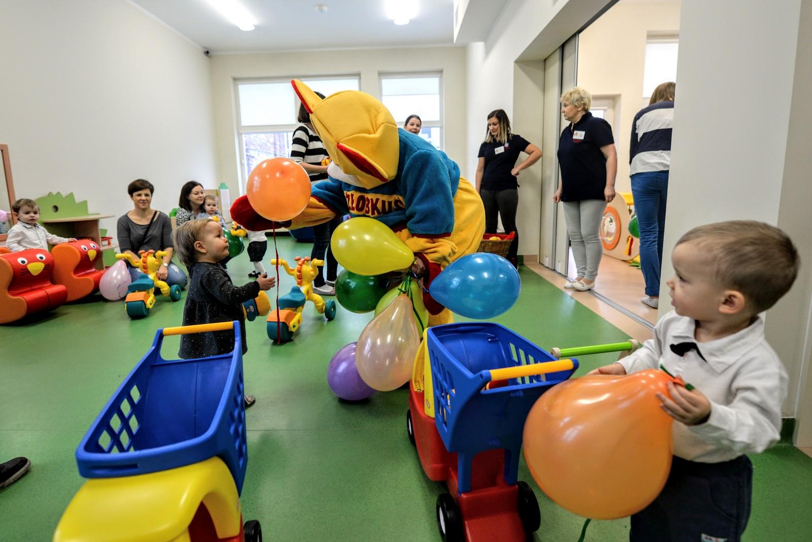 Obecnie stolica zapewnia blisko 6500 miejsc dla najmłodszych warszawiaków w żłobkach. (fot. UM Warszawa)