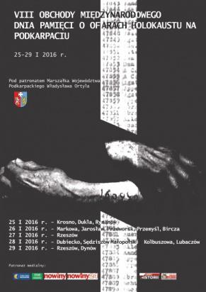 Podkarpackie: Obchody Międzynarodowego Dnia Pamięci o Ofiarach Holokaustu