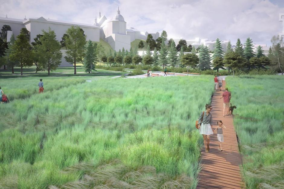 Lublin: Będzie nowy park na Błoniach pod Zamkiem