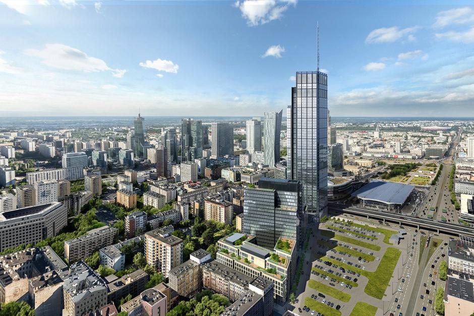 Najwyższy budynek w Warszawie - Varso Tower. (Fot. mat.pras.)