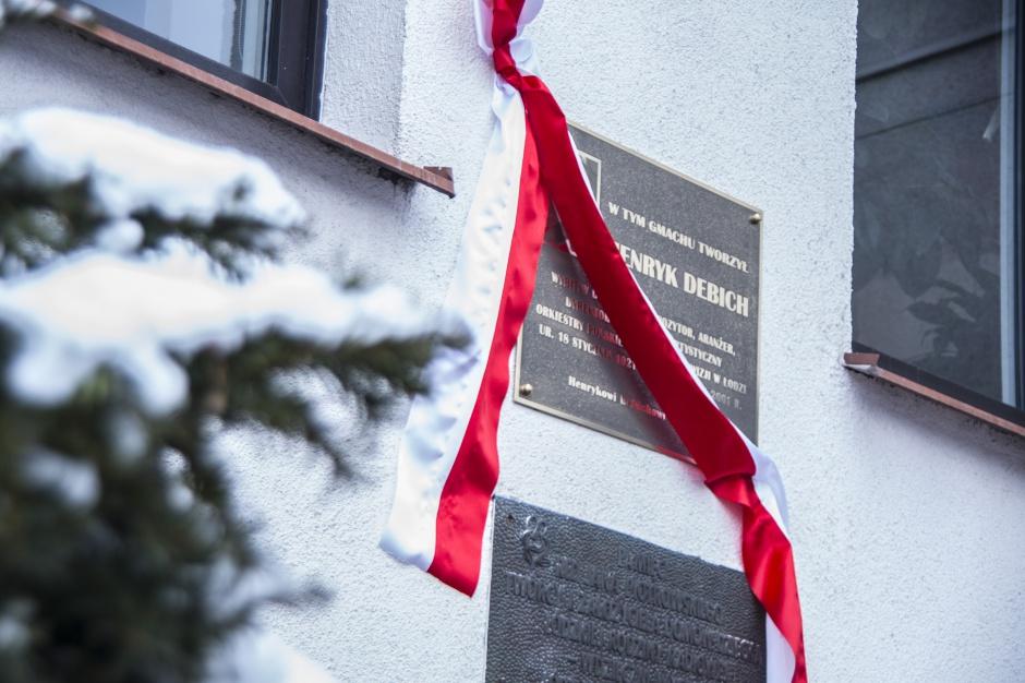 Łódź: Upamiętniono dyrygenta Henryka Debicha
