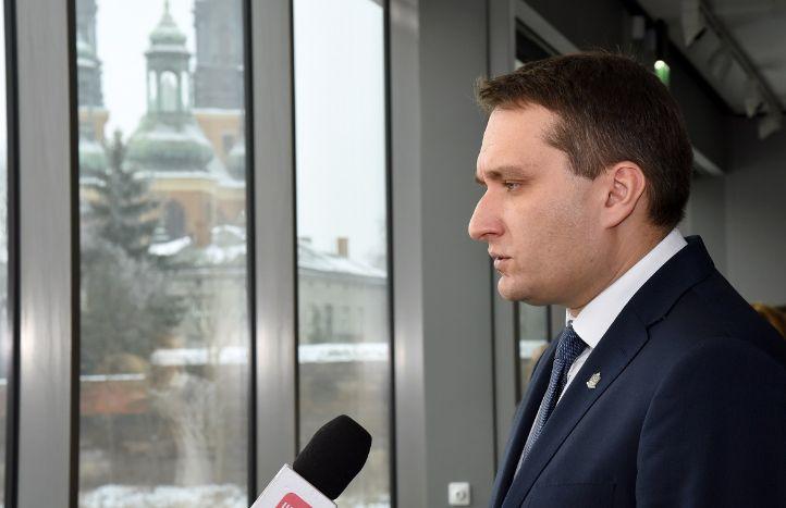 Ofensywa rewitalizacyjna miasta. Konferencja prasowa w Bramie Poznania. (Fot. mat. pras.)