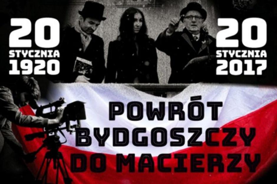 Bydgoszcz: Uczczono 97. rocznicę powrotu miasta do macierzy