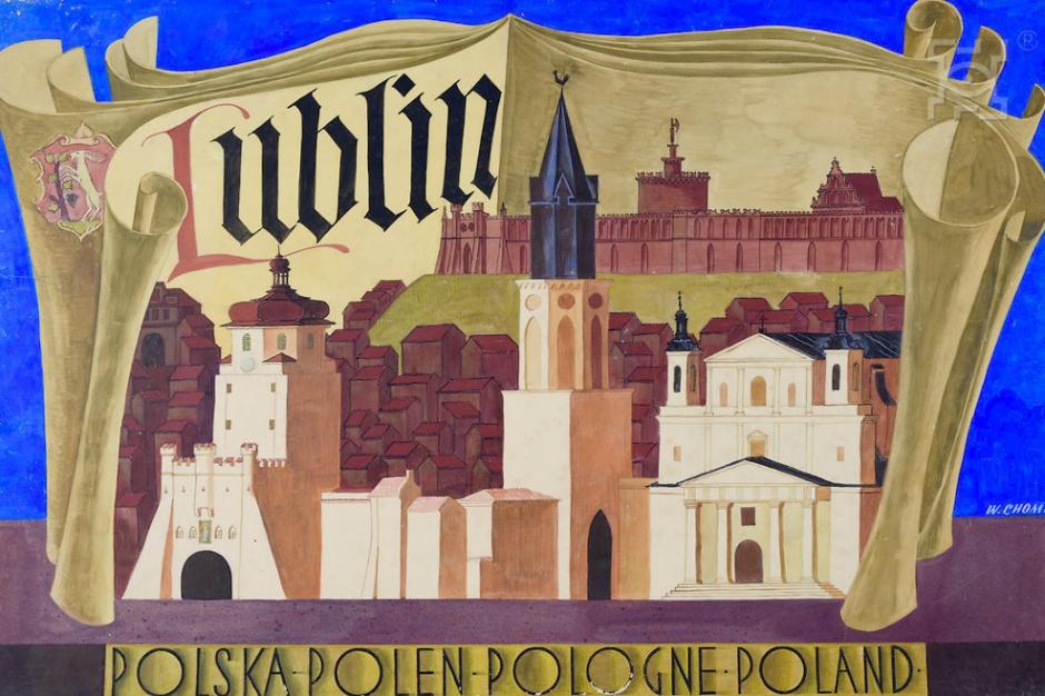 Lublin: Zabytki na dawnych plakatach