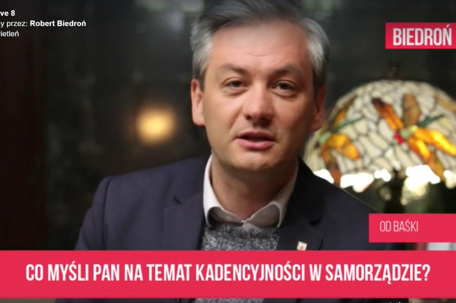 Jarosław Kaczyński traci sojusznika? Robert Biedroń już nie chce ograniczenia kadencji w samorządach, bo obawia się PiS