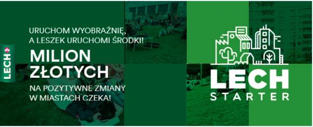 LECHSTARTER czyli milion złotych na granty dla polskich miast