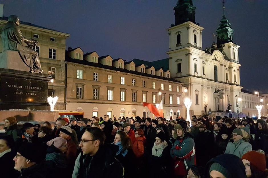 Studenci wyszli na ulice. Za świeckim państwem i wolnością zgromadzeń