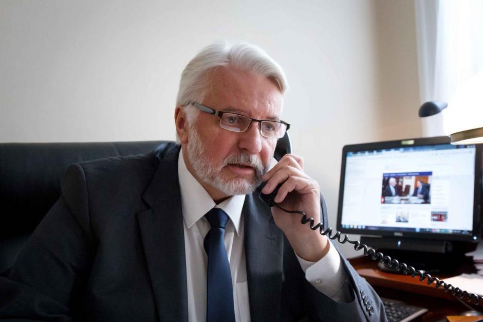 Waszczykowski poprosił szefa MSZ Ukrainy o wyjaśnienie zakazu wjazdu dla prezydenta Przemyśla