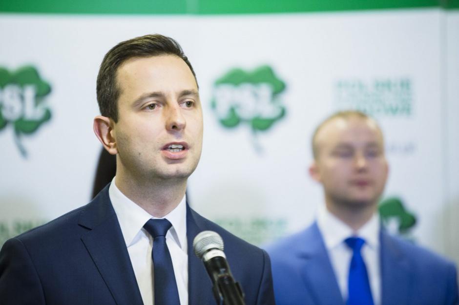 Władysław Kosiniak-Kamysz, szef PSL chce, aby pozycja sołtysa i rady sołeckiej była mocniejsza