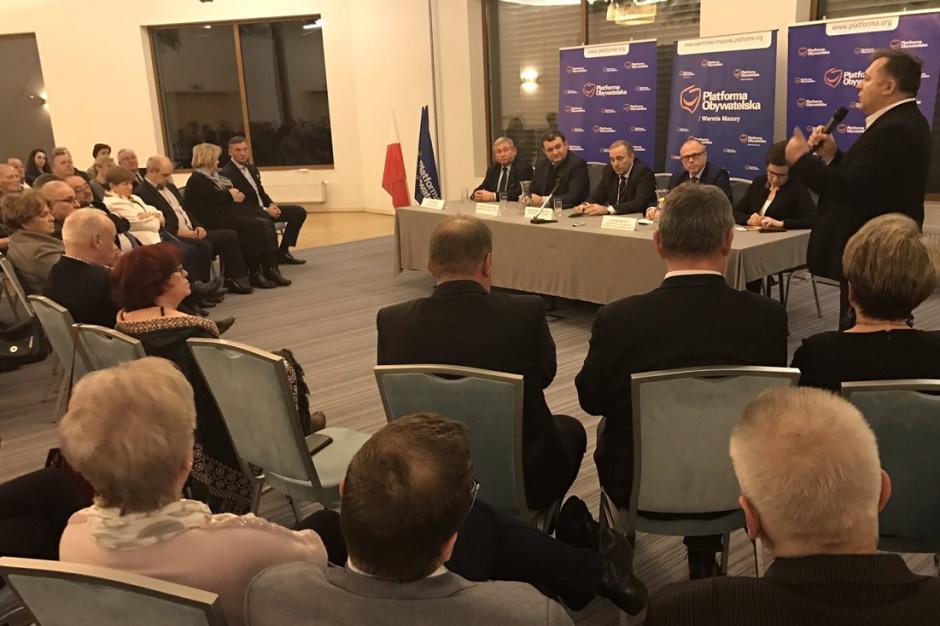 Grzegorz Schetyna: W sobotę powołamy pełnomocników do wyborów samorządowych