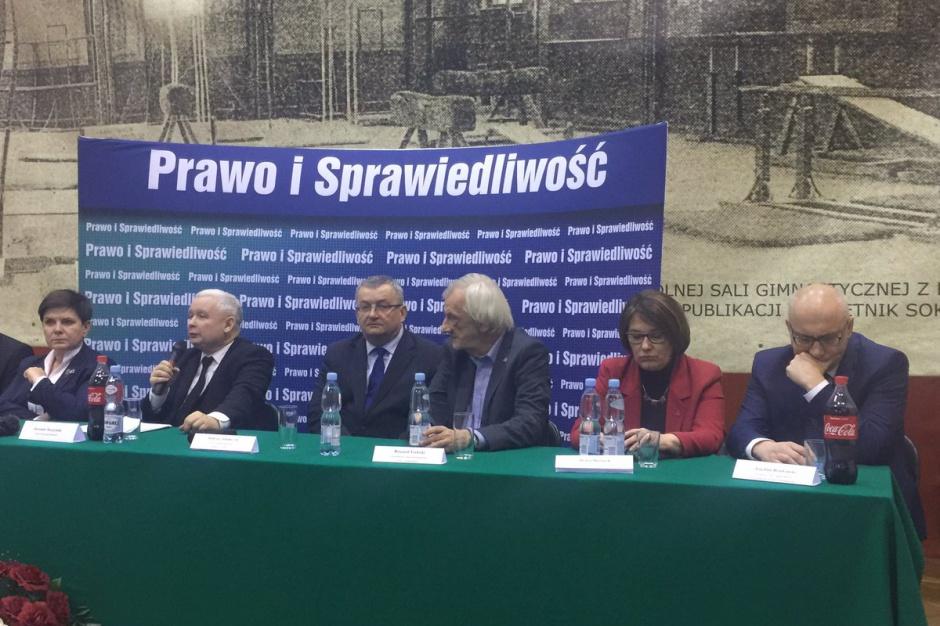 Jarosław Kaczyński: Trzeba zlikwidować patologie w samorządach i podnieść jakość rządzenia