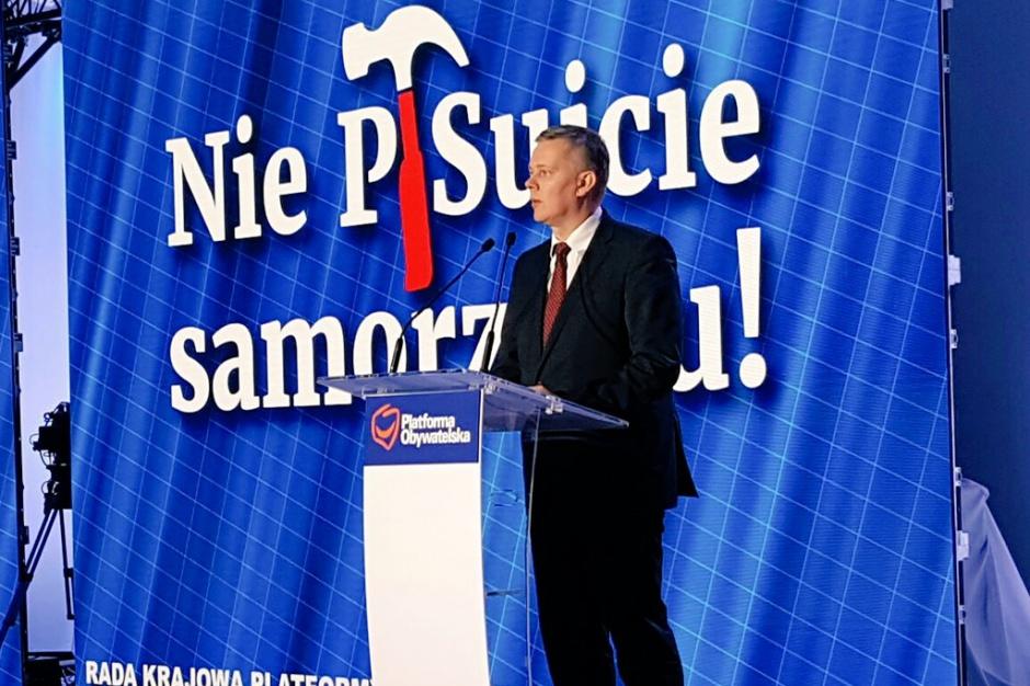 Ograniczenie kadencji, przyspieszone wybory. Tomasz Siemoniak pełnomocnikiem PO ds. wyborów samorządowych