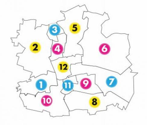 Łódź została podzielona na 12 obszarów komunikacyjnych z dokładnym rozpracowaniem możliwych połączeń autobusowych i tramwajowych (fot.lodz.pl)