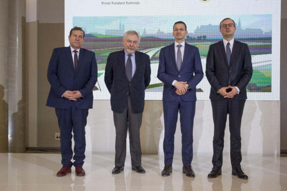 PFR sfinansuje obwodnicę Krakowa za ok. 1 mld zł