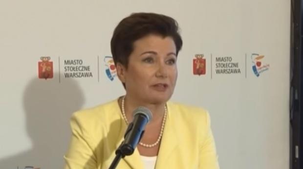 Metropolia warszawska. Hanna Gronkiewicz-Waltz: Propozycja PiS to cwaniacka walka o przejęcie władzy