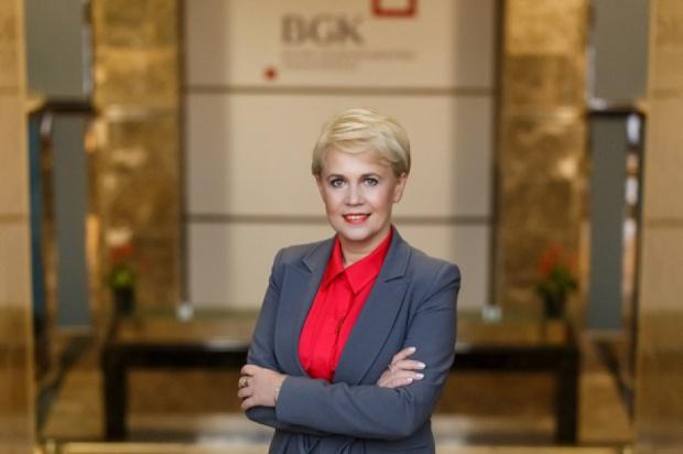 Beata Daszyńska-Muzyczka, prezes BGK (fot.: mat.pras.)