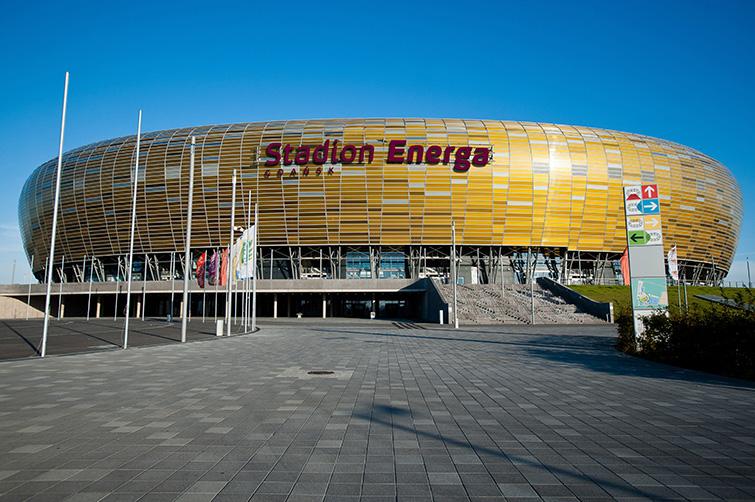 Wybudowany na Euro 2012 w piłce nożnej Stadion Energa w Gdańsku. (fot. gdansk.pl)