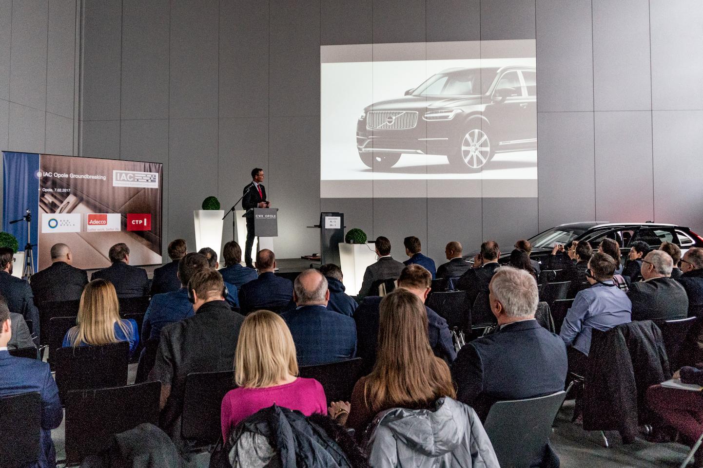 Firma produkuje elementy m.in. dla samochodów marki Volvo. (fot. UM Opole)