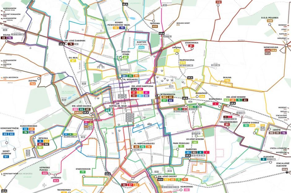 Łódź zmienia system komunikacji miejskiej. Po 15 latach