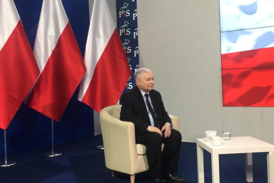 Jarosław Kaczyński: Tworzenie metropolii wynika z chęci ułatwienia życia mieszkańcom