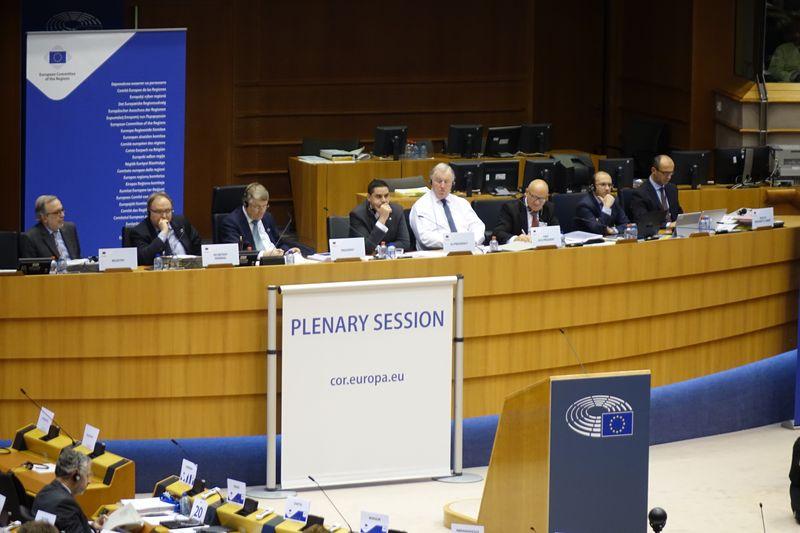 Pierwsza w tym roku sesja plenarna Komitetu Regionów odbyła się w dniach 8-9 lutego 2016 r. (fot. lodzkie.pl)